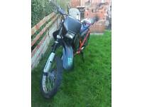 APRILLIA MX 125 ROAD LEGAL SPARES OR REPAIRS