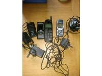 4 x old mobile phones