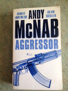 Aggressor by Andy McNab Primbee Wollongong Area Preview