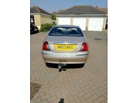 AUTOMATIC ROVER 75 DIESEL REG 2003 WITH MOT ENGINE BMW 2CC DRIVE WELL