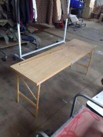 Folding Plaster Table