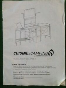 Camp kitchen portable never used 200.00 obo