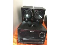 Phillips Micro Music System DCM3020 in excellent condition