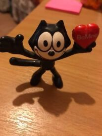 FELIX THE CAT APPLAUSE FIGURE 1989,SPECIAL COLLECTORS ITEM.VALENTINE GIFT.