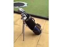 Long ridge junior tiger (graphite shaft) golf clubs 12 to 15 years