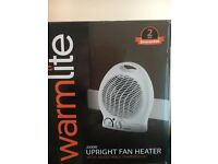 Warmlite Fan & Heater very effective and works perfectly