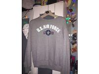 Grey Air Force Jumper