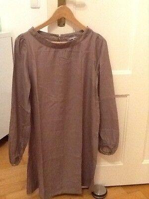 Minikleid In Wear Gr. 34 Seide/ Baumwolle