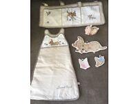 Disney bambi nursery set