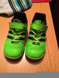 Adidas footbal trainers