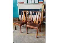 Teak chairs. £40 for the set. Delivery available