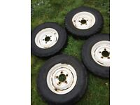 4 x Defender Wheels / Tyres