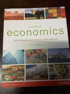 Principles of Economics Sloman Norris Garrett 4th Edition Gilgai Inverell Area Preview