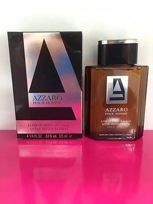 Azzaro After Shave Spray (Azzaro Azzaro Pour Homme After Shave 125ML Splash (No Spray) New & Rare)