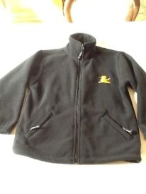 Black PORTSMOUTH Grammar school fleece age 9 to 10 years