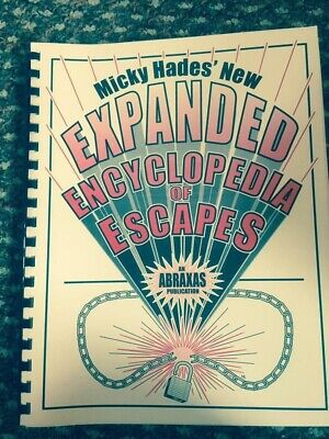 Escapology Book Escape Artist Secrets Of Houdini Magic
