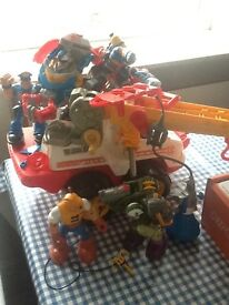 Excellent condition robust fisher price toys .