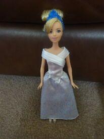 As New Disney Cinderella Wedding Dress Doll Only £3