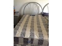 2 Single beds for sale - includes mattress, headboard and divan with two storage drawers
