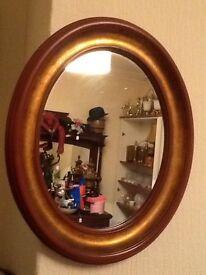 Oval Mirror vintage