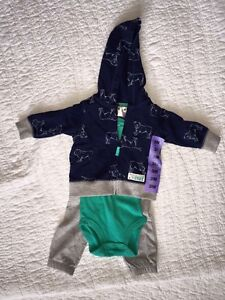 NEW Carter's 3-piece outfit. Size 3 months.