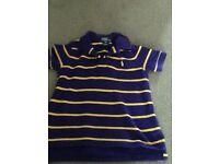 Boys Ralph Lauren t shirt with collar aged 4.