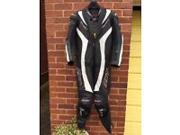 RST Tractech-R 1 Piece Leather Motorcycle Suit