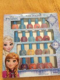 Disney Frozen Nail Polish NEW