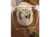 Lionelo elecric baby swing with many melodies , great item!