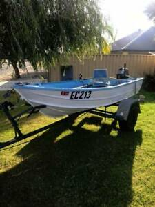 6HP Dinghy and Trailer