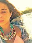 Wooden Bib Fashion Necklaces & Pendants