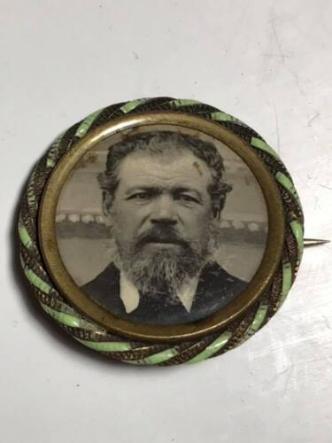 Antique Mourning Pin