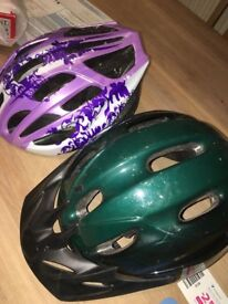 one kids helmet pink