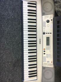 Battery operated keyboard.