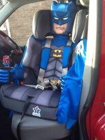BATMAN CHILDS CAR SEAT