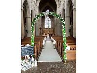 Wedding ceremony decor package
