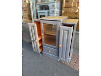 Upcycled hi-fi/ media cabinet