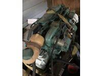 Volvo Penta , 2000 Series Marine Diesel Engine / 10 HP , 2 Cylinder w/ Gear 3-1
