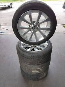 18 Inch VE Commodore Calais V Alloy Wheels And Tyres Bayswater Bayswater Area Preview