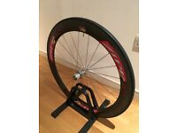 Zipp 404 tubular carbon rear wheel