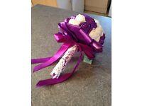 BRAND NEW - Artificial wedding bouquet for bride or bridesmaid