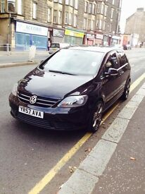 Volkswagen Golf 1.4 Black for sale with 1 year MOT