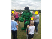 Hulk Mascot For Sale