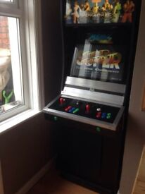 Full Size Mame Arcade Machine 2 Player Joy Stick 1000's Of Games Upgraded Full HD Screen Bargain!