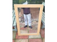 large mirror good condition only £7