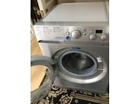 For Sale silver indesit washing Machine