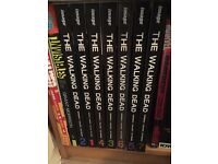 The Walking Dead Hardback Book 1-7