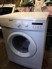 Reconditioned Bush 1200 spin, 6kg load Washing Machine with3 month money back guarantee