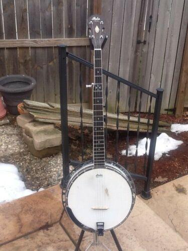 Iida Bluegrass Banjo With Original Hardshell Case