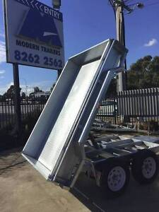 8x5 Hot Dipper Galvansied Tandem Electric Tipper Trailer Morphett Vale Area Preview
